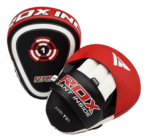 RDX T1 Red Boxing Pads - Red/Black