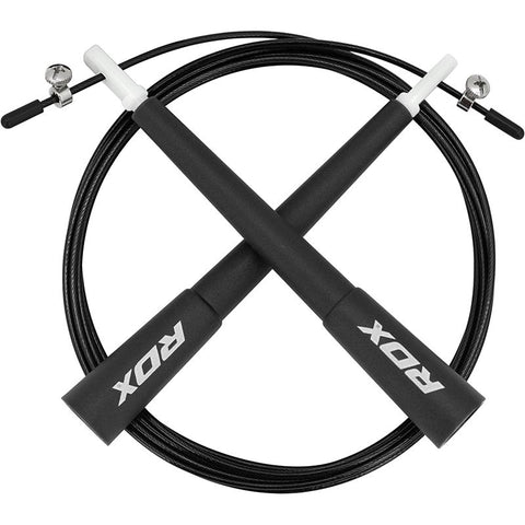 RDX C8 Adjustable Skipping Rope - Black