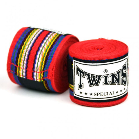 Twins CH2 Premium Cotton Hand wraps Red - 5m