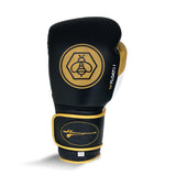 Ringside Honey Punch Float G1 Pro Spa Velcro Glove - Black/Gold/White - 12oz