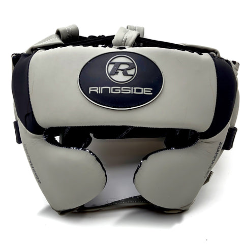 Ringside Gamma Series Limited Edition Cheek Head Guard Grey/Black - Large