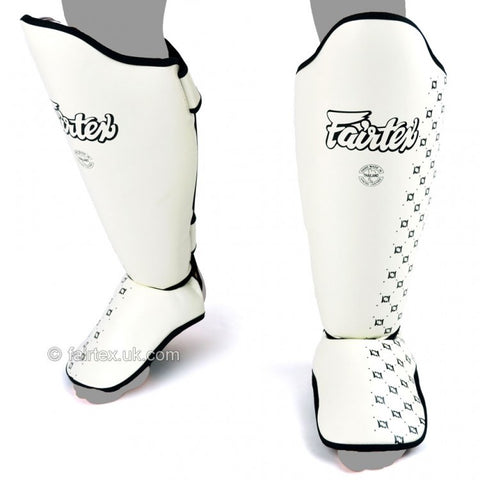 Fairtex SP5 Standard Shin Pads White - Medium