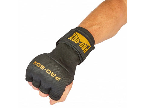 Pro-Box Super Inner Padded Glove Black/Gold - Large/XL