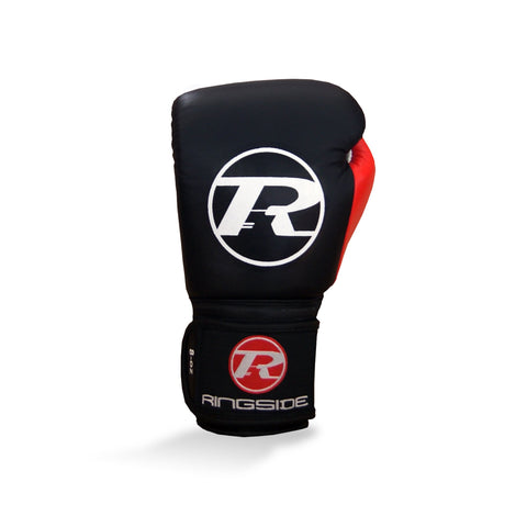 Ringside Junior Velcro Training Glove Black/Red/White - 8oz