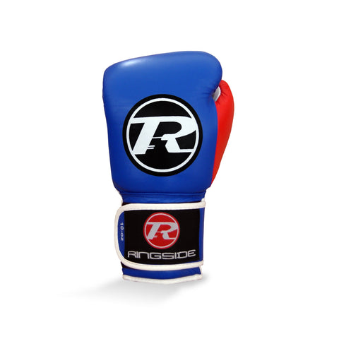 Ringside Junior Velcro Training Glove Blue/Red/White - 10oz