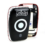 Fairtex KPLC1 Small Curved Kick Pads Black/White