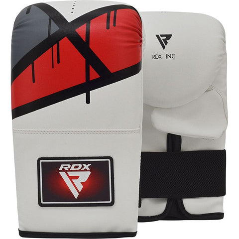 RDX F7 Bag Mitts - Red & White