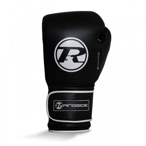 Ringside Revolution G2 Super Pro Spar Velcro Gloves Black/White -14oz