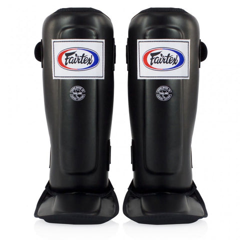 Fairtex SP3 Double Padded Shin Pads Black - Medium