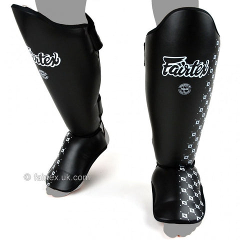 Fairtex SP5 Standard Shin Pads Black - Large