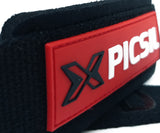 Picsil Sport Lifting Straps - Black/Red