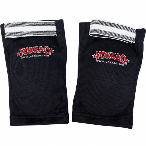 Yokkao Muay Thai Boxing Elbow Guard - Black