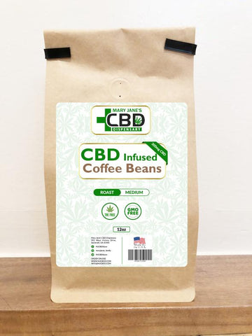 CBD INFUSED COFFEE BEANS