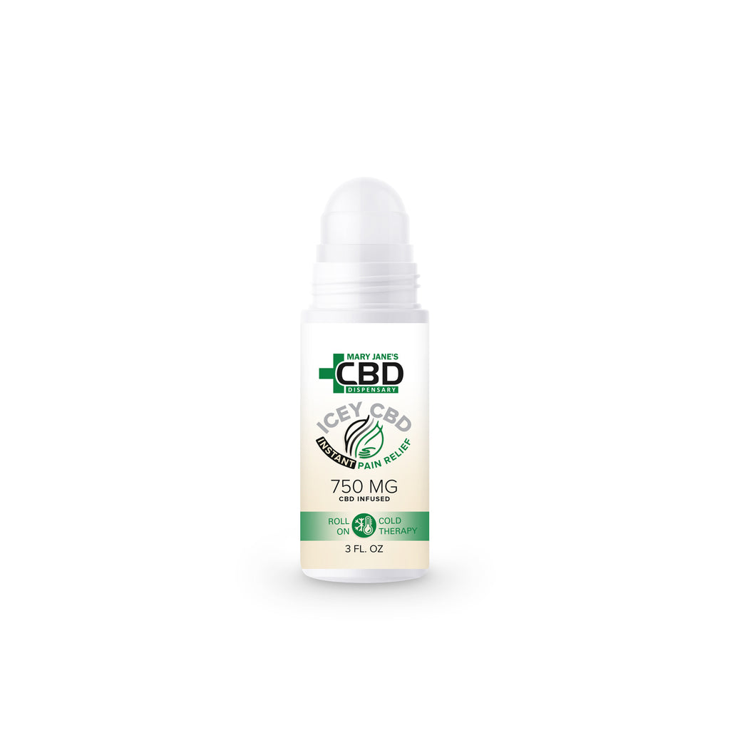 MJ Icey CBD Instant Relief Roll-On Cold Therapy 750mg