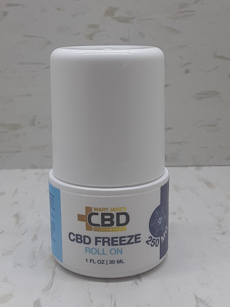 MJ Icey CBD Instant Relief Roll-On Cold Therapy 250mg
