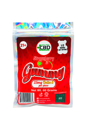MJ Delta-8 Gummies 250MG 10ct