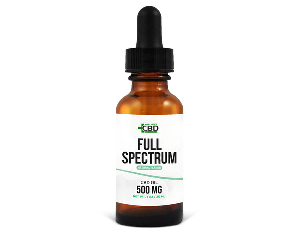 MJ Full Spectrum CBD Oil 500mg Natural