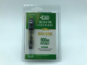 MJ Delta 8 Vape Cartridge 900 mg D8  (Blister Pack)