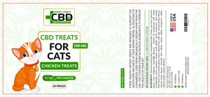 Mary Jane CBD Treats for Cats 100mg