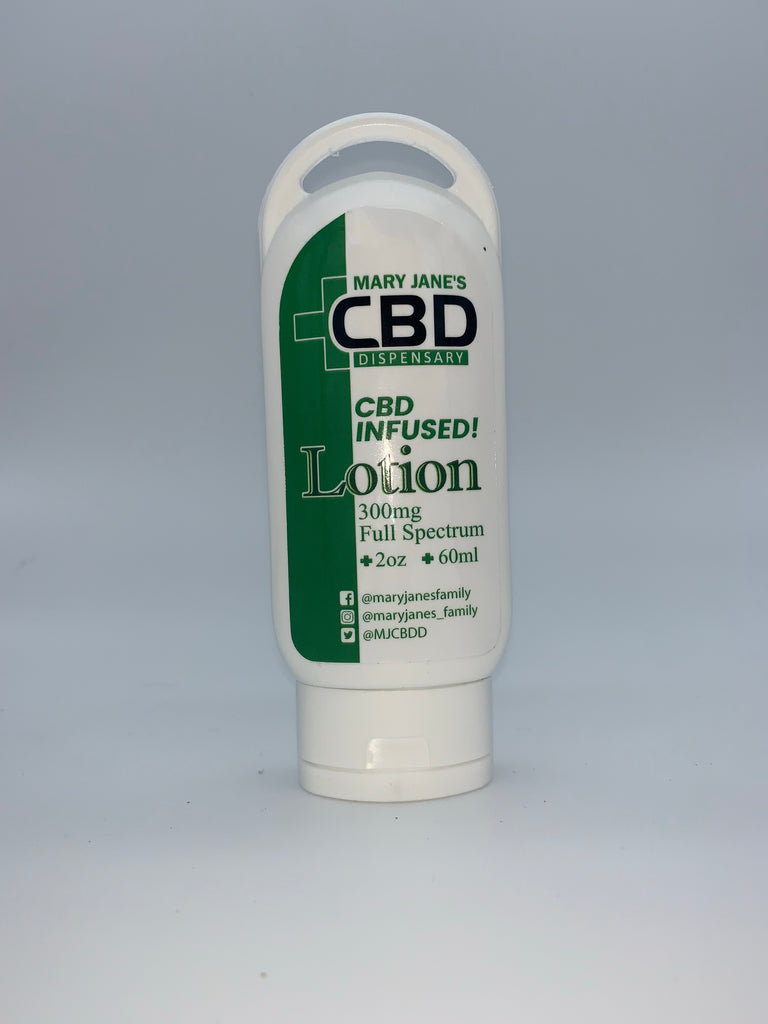 MJ CBD Full Spectrum Infused Lotion 300MG (2 oz / 60ml)