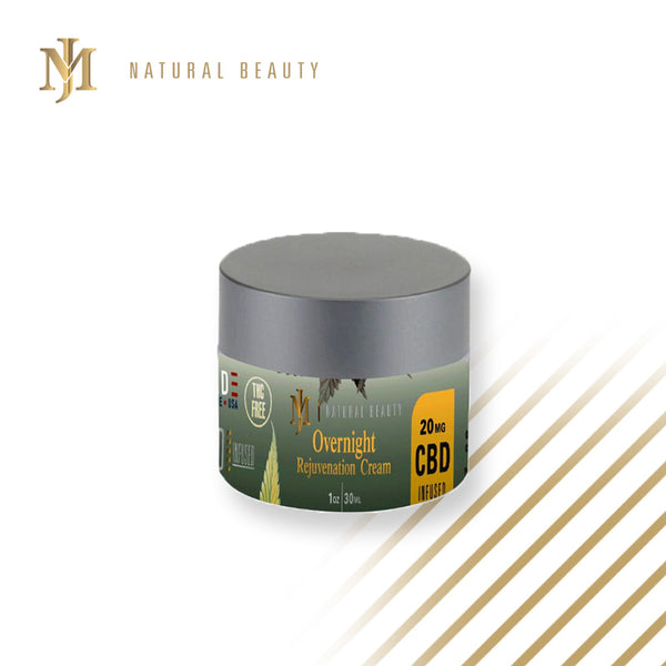 Night Skin Rejuvenation Cream with CBD 20mg
