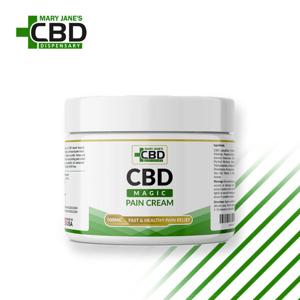 MJ Magic CBD Pain Cream 500mg | ONLINE