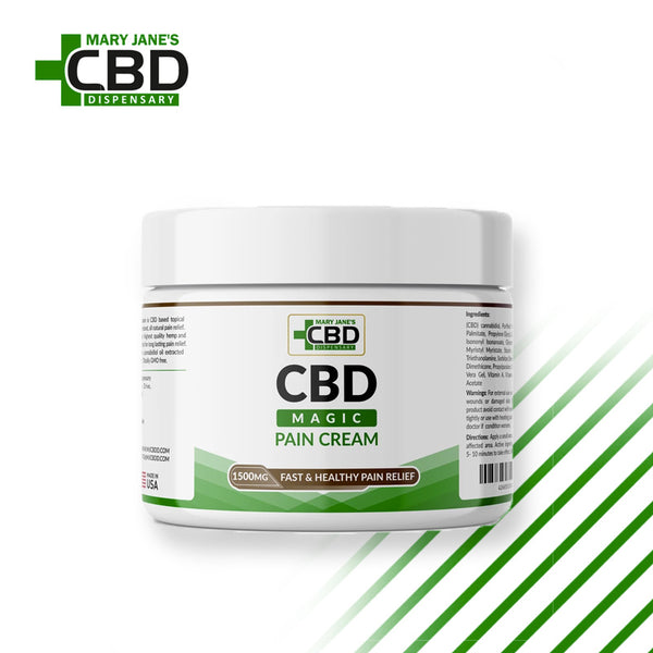 MJ Magic CBD Pain Cream 1500mg | ONLINE
