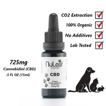 Load image into Gallery viewer, CBD Doctors | NuLeaf Naturals Full Spectrum Pet CBD Oil, High Grade Hemp Extract (50mg/ml) dog treats with hemp. Great for cats, dogs, horses for there pain, inflammation, anxiety, arthritis, and many other ailments.