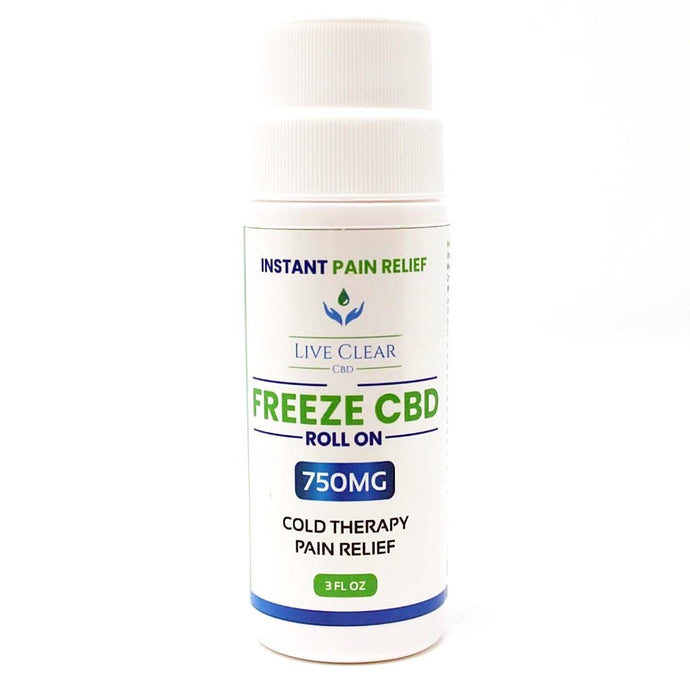 CBD Doctors Shop | 750mg topical freeze roll on. You apply to the area of pain whether that's your knee, back, leg, or any other body part that hurts.