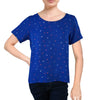 Petrol Ladies Basic Woven Boxy Fit 12789 (Royal Blue)