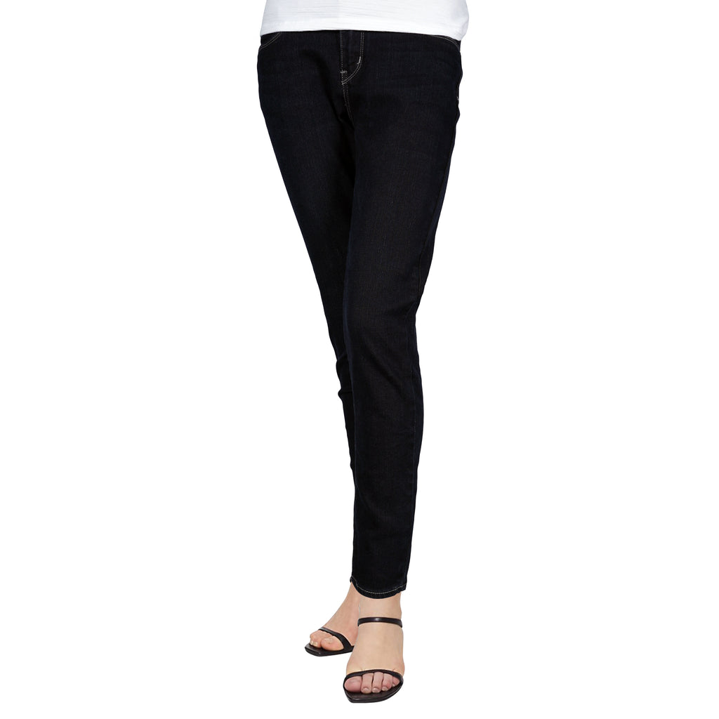 Petrol Ladies' Basic Bottoms Skinny Mid-Rise 13475-U (Dark Shade)