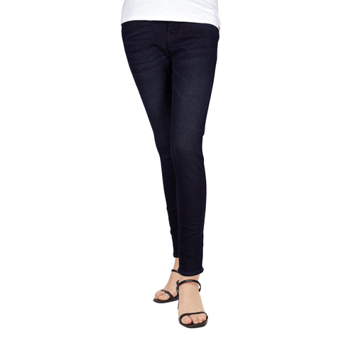 Petrol Ladies Basic Non-Denim Culottes 13194 (Navy)