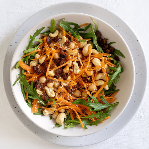 Carrot, Cashew and Sultana Salad