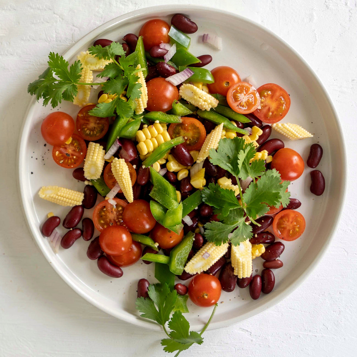 Colourful Mexican Bean Salad