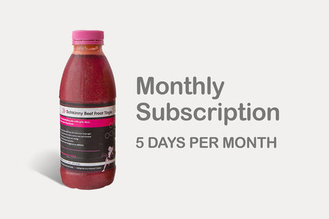 Monthly Subscription 5 day cleanse