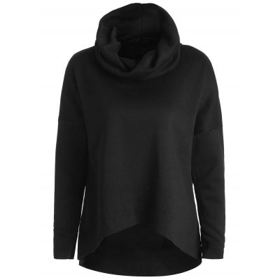 Drop Shoulder Pullover Sweatshirt