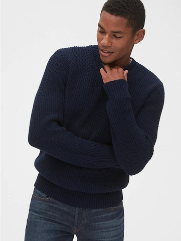 Chunky V-Neck Sweater