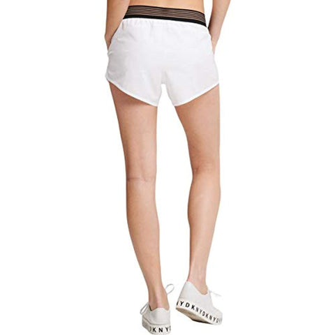 DKNY Women's Sport Shadow-Waistband Running Shorts Small - Shorts - SouqBrands.com