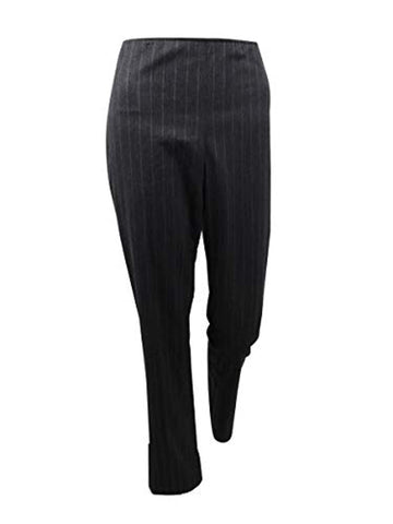DKNY Women's Side-Zip Pinstripe Pants - Pants - SouqBrands.com