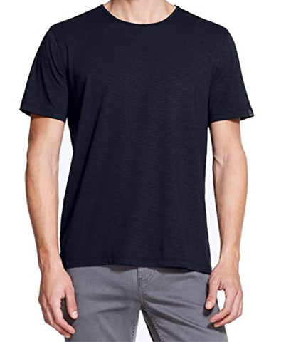 DKNY Navy Mens Mercerized Solid V Neck T-Shirt Blue XX-Large - T-Shirts - SouqBrands.com