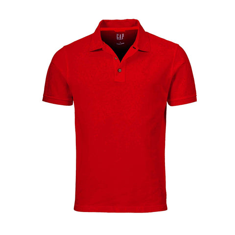 GAP Men's Solid Colors Custom Fit Polo Mesh Shirt - T-shirts - SouqBrands.com