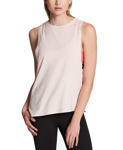 DKNY Women's Sport Asymmetrical Muscle Tank Top - T-Shirts - SouqBrands.com