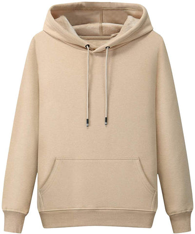 Pishon Men's Cotton Pullover Hoodie Jersey Front Pocket Thermal Warm Hooded Sweatshirts - Clothes - SouqBrands.com
