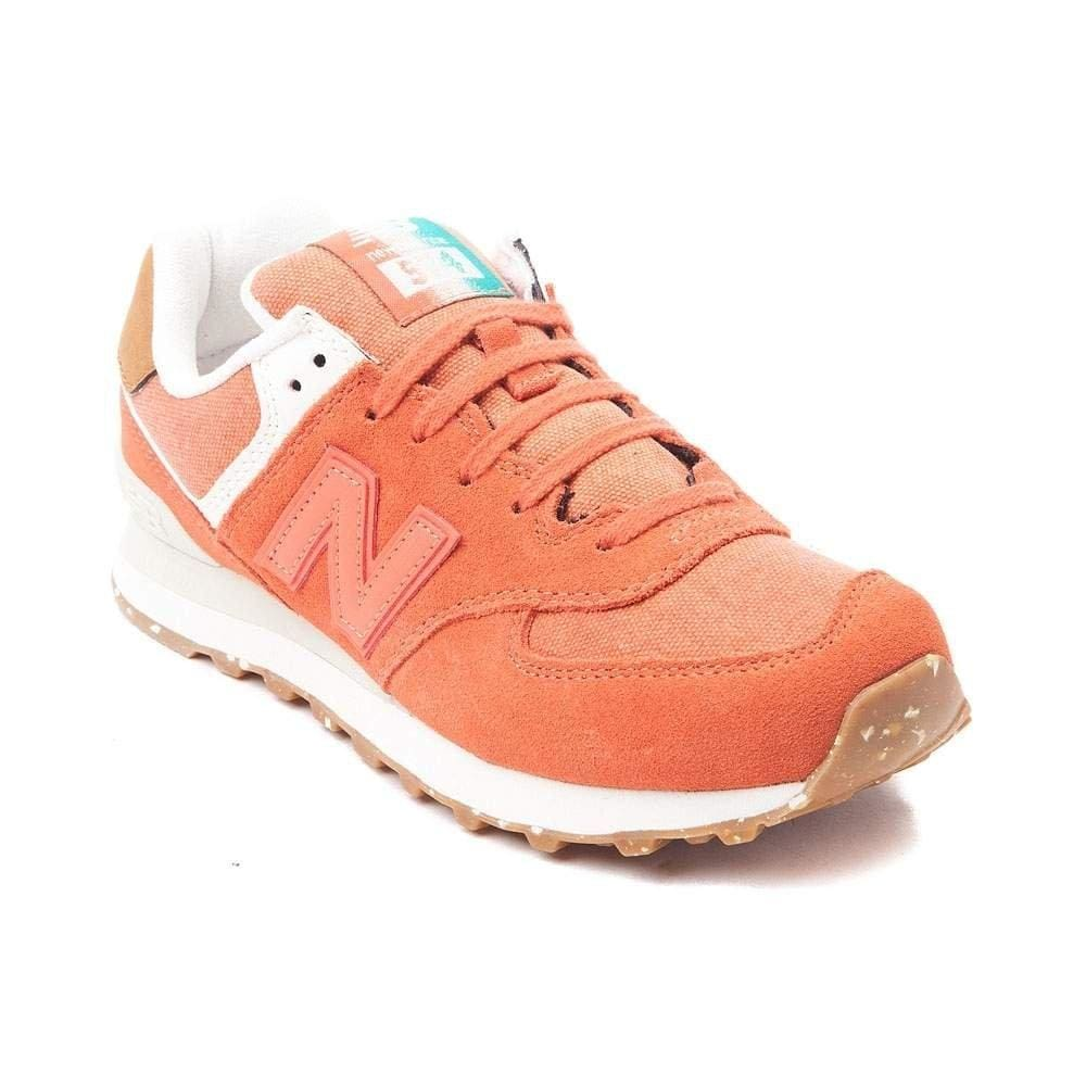 New Balance Women's WL574 CORE PLUS-W Lifestyle Sneaker Rust 1538 - Shoes - SouqBrands.com