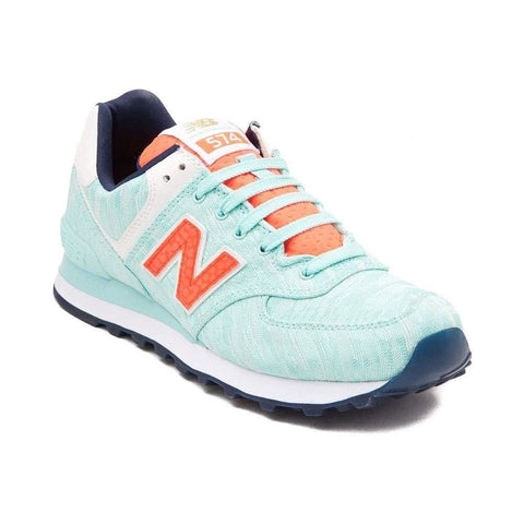New Balance Women's WL574 CORE PLUS-W Lifestyle Sneaker Turquoise 1473 - Shoes - SouqBrands.com
