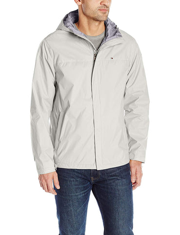 Tommy Hilfiger Men's Waterproof Breathable Hooded Jacket - Jacket - SouqBrands.com