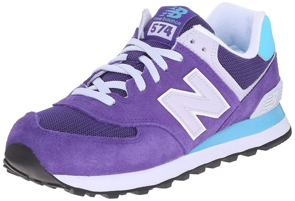 New Balance Women's WL574 CORE PLUS-W Lifestyle Sneaker Purple - Shoes - SouqBrands.com