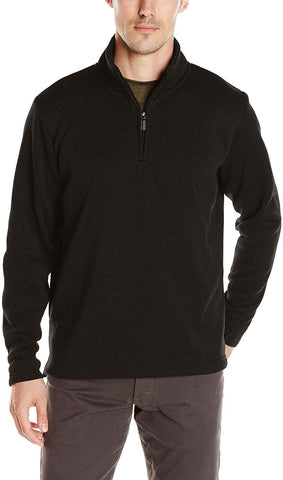 Wrangler Authentics Men's Sweater Fleece Quarter-Zip - Clothes - SouqBrands.com