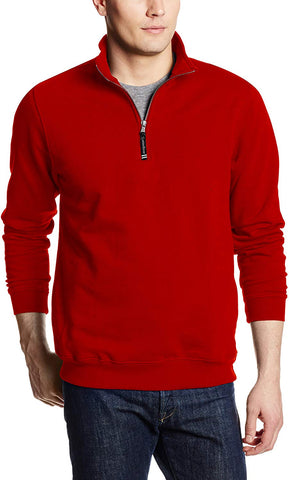 Charles River Apparel Men's Crosswind Quarter Zip Sweatshirt (Regular & Big-Tall Sizes) - Clothes - SouqBrands.com