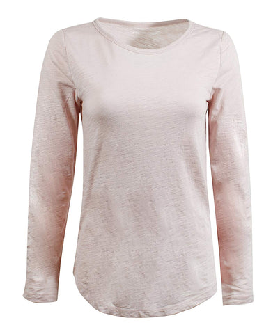 GAP Women's Long Sleeve Crewneck T-Shirt - T-shirt - SouqBrands.com